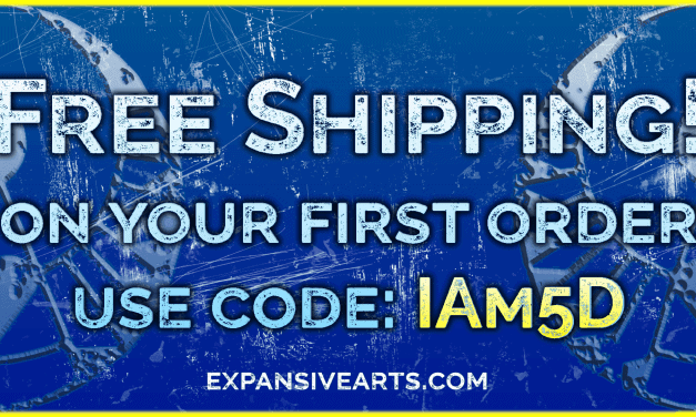 ExpansiveArts Promo Code!