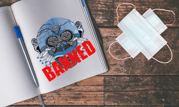 More illegal censorship by Mailchimp & my mask-confession